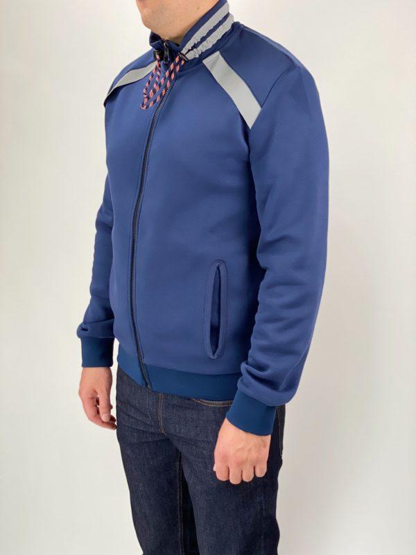 Толстовка мужская Dirk Bikkembergs синяя