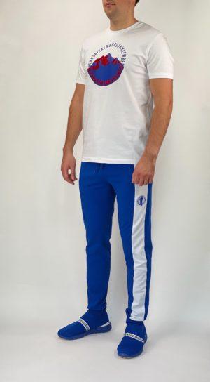 Футболка мужская белая Dirk Bikkembergs