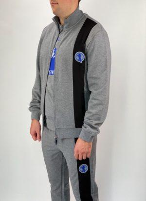 Спортивная кофта мужская Dirk Bikkembergs серая