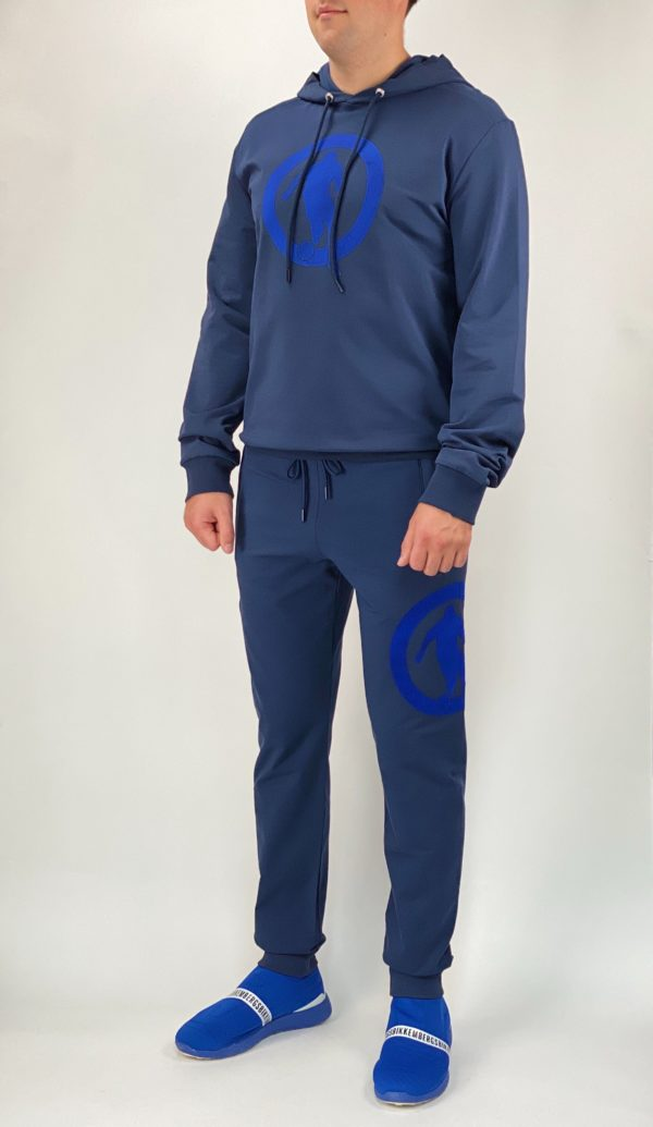 Толстовка Dirk Bikkembergs мужская синяя