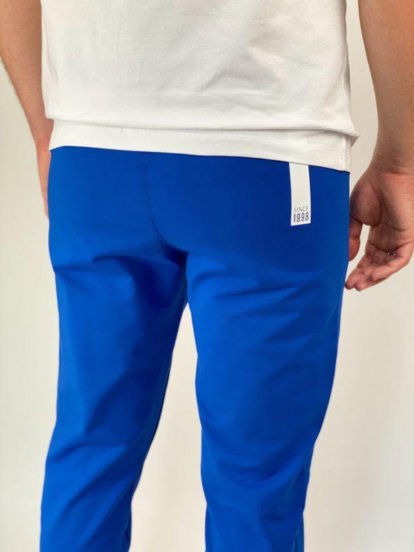 Спортивные синие мужские штаны Bikkembergs