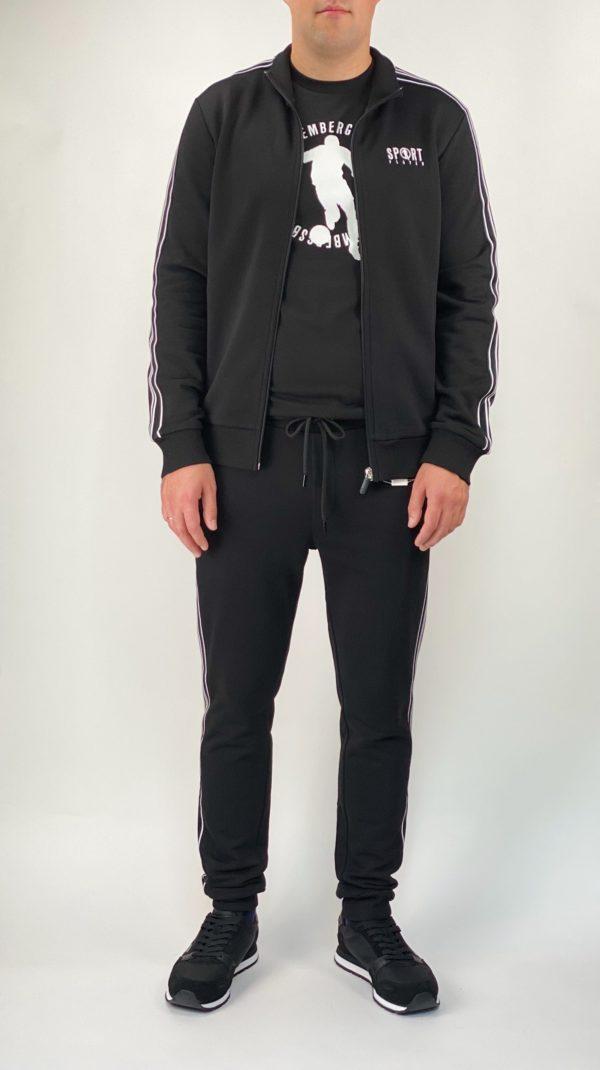 Спортивная мужская кофта Dirk Bikkembergs черная