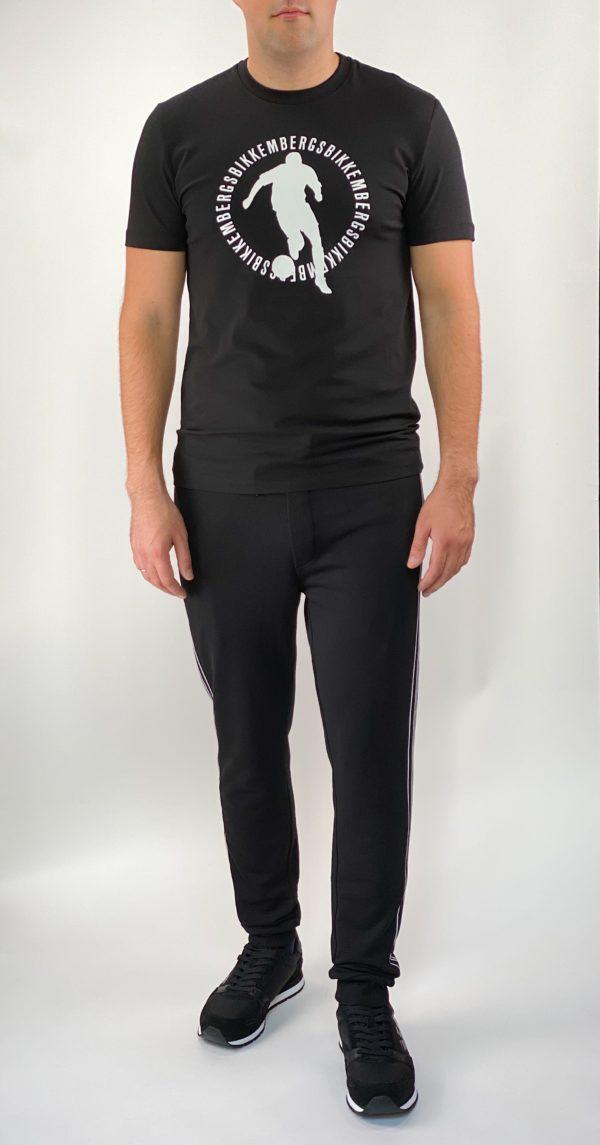 Спортивные мужские штаны Dirk Bikkembergs - черные