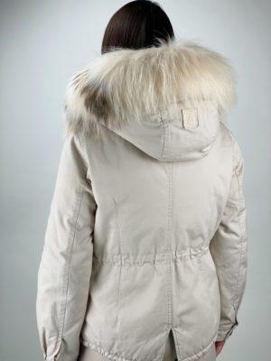 Женская куртка Alessandra Chamonix белого цвета