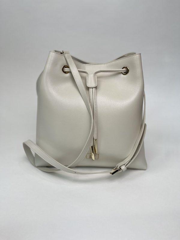 Сумка Cavalli Class белая женская полный размер
