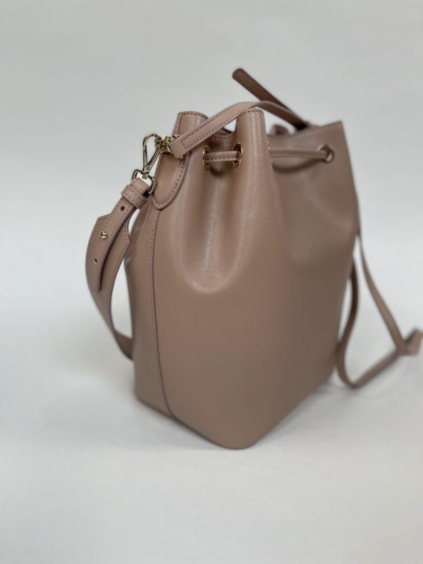 Бежевая женская сумка Cavalli Class вид сбоку