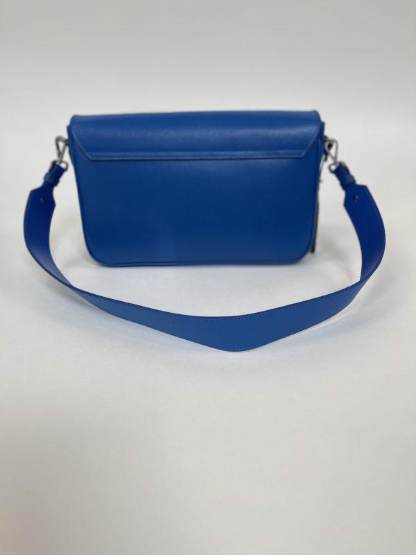 Синяя женская Сумка Cavalli Class вид сзади