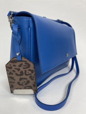 Синяя женская Сумка Cavalli Class вид сбоку