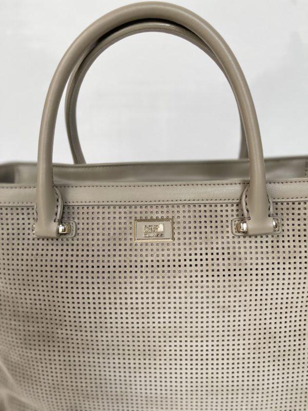 Cavalli Class сумка с перфорацией женская логотип