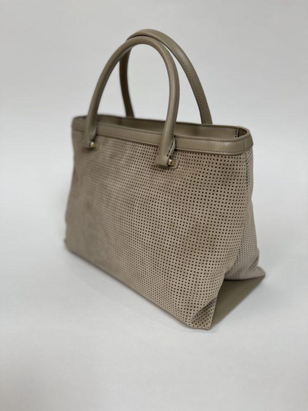 Cavalli Class сумка с перфорацией женская вид сзади сбоку