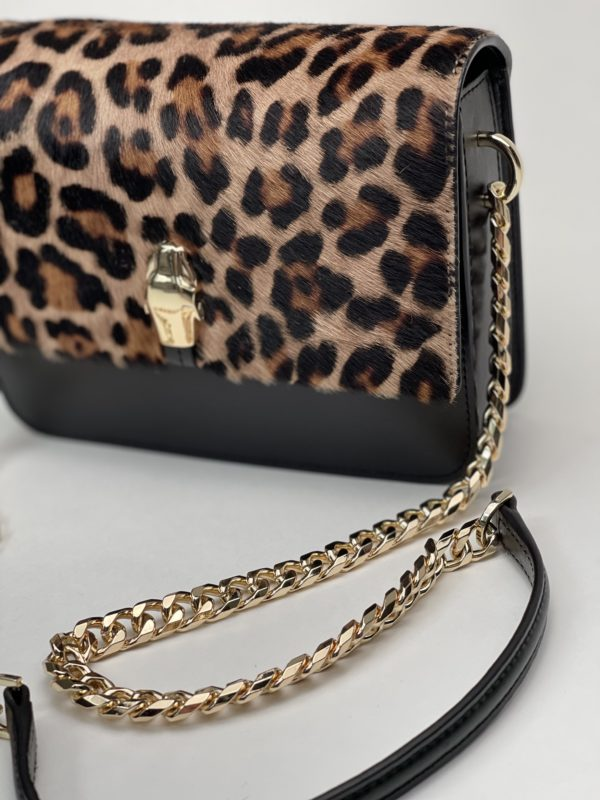 Сумка Cavalli Class женская - темного леопардового окраса